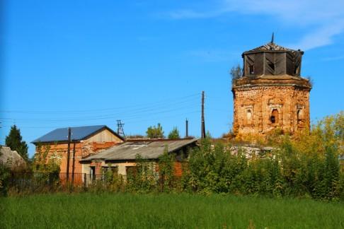 Богоявленская церковь в Костино - 8