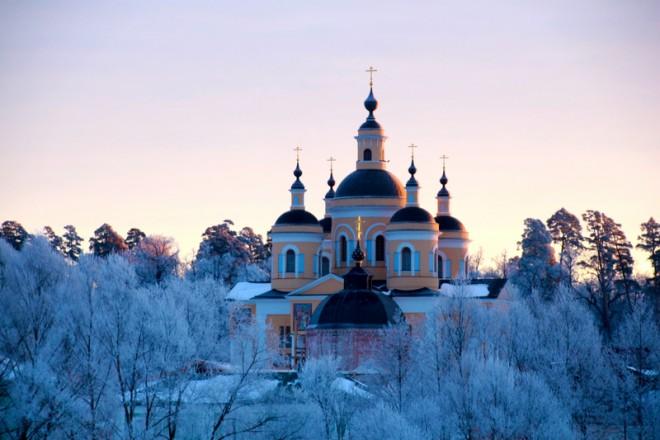 Вышенский монастырь. Фото