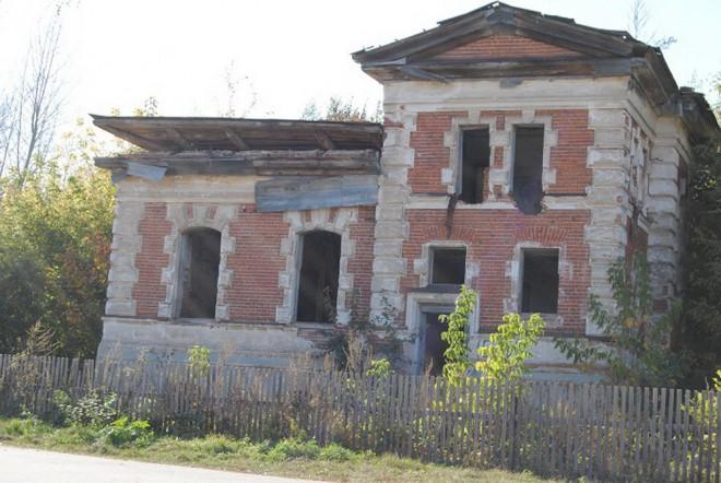 Усадьба фон Дервиза. Соха. Фото