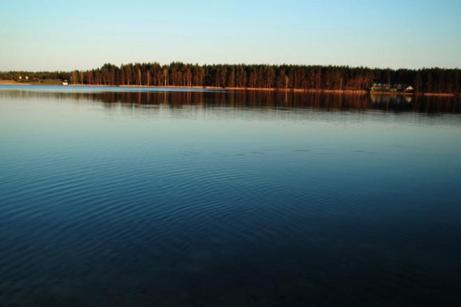Белое озеро. Фото