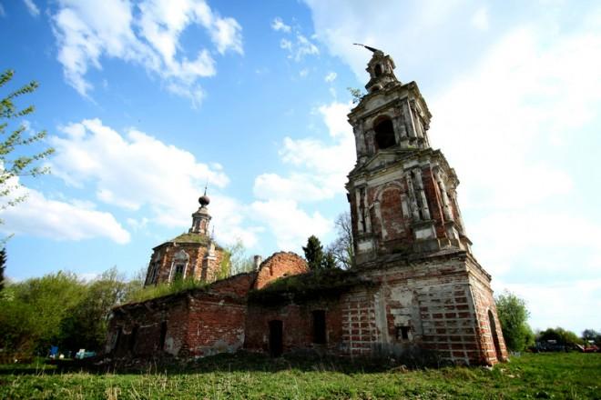 Преображенский храм в Большом селе. Фото