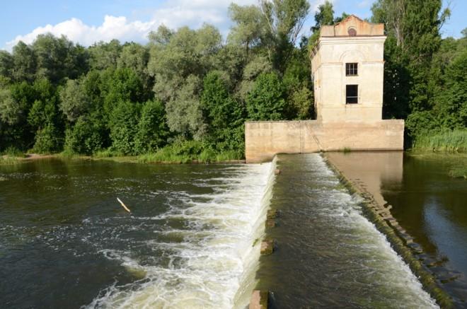 Затонская ГЭС. Фото