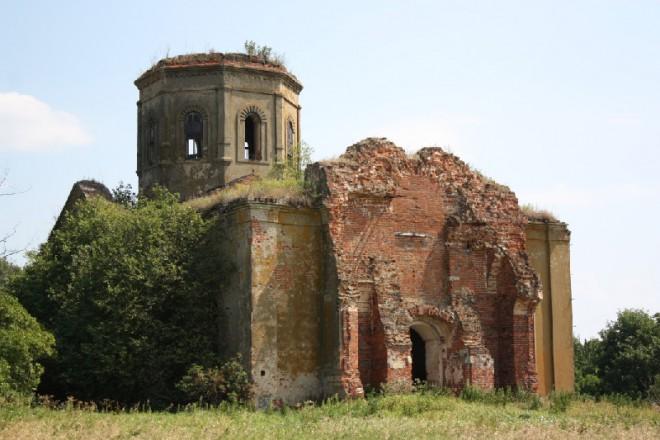Лошаки. Спасская церковь. Фото