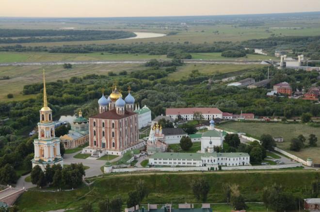 Рязанский кремль. Фото