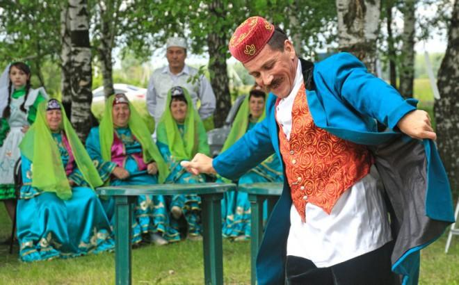 Сабантуй под Касимовом. Фото