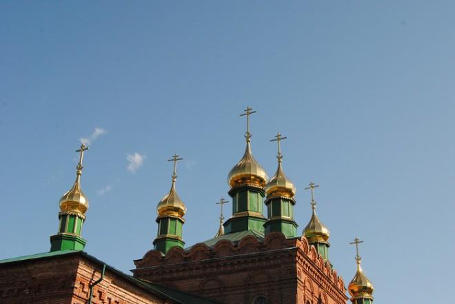 Церковь Сергия Радонежского. Фото