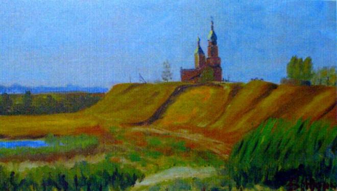 Юдин В.А. Деревянная церковь Мурмино