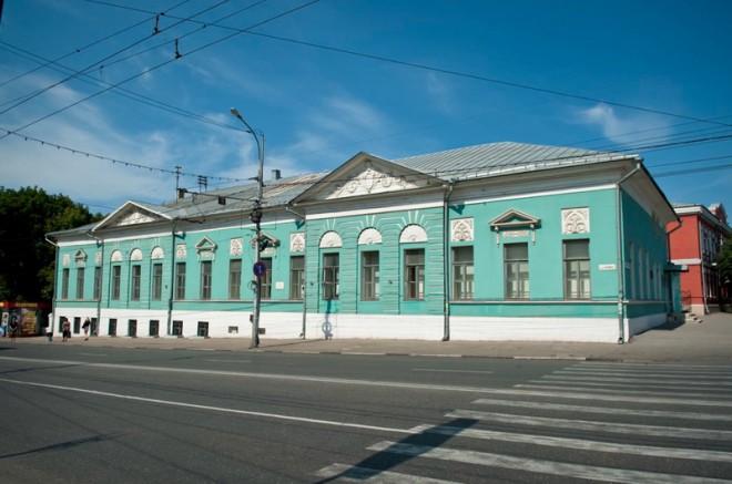 Дом Салтыкова-Щедрина. Фото