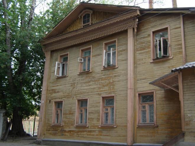 Дом Натальи Климовой. Фото