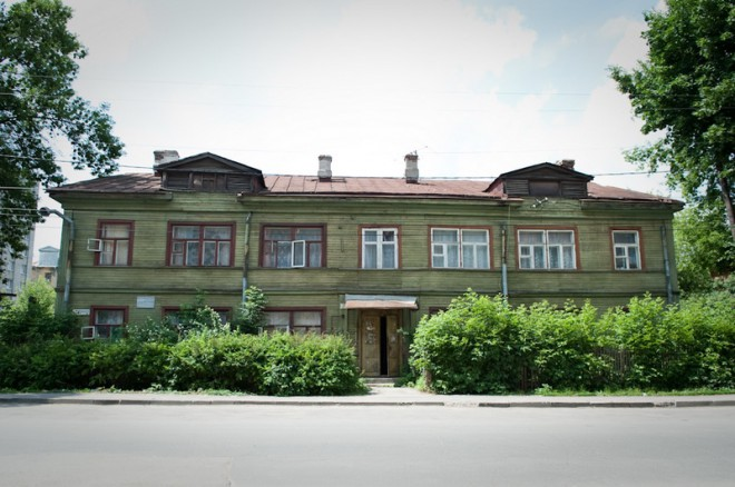 Дом Солженицына. Фото