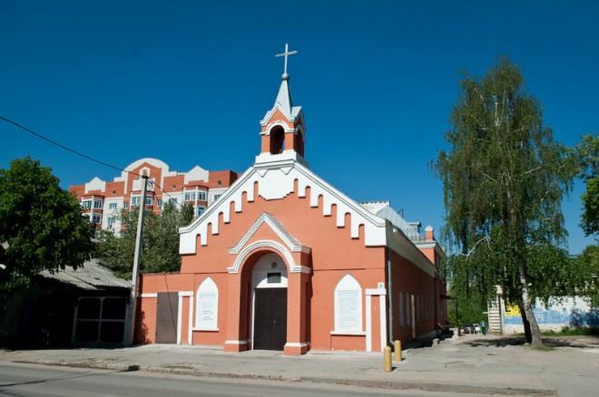 Кирха на Щедрина. Фото