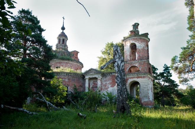 Протасьев Угол. Спасская церковь. Фото