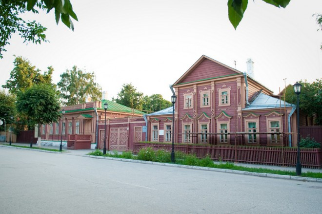 Усадьба Ивана Павлова. Фото