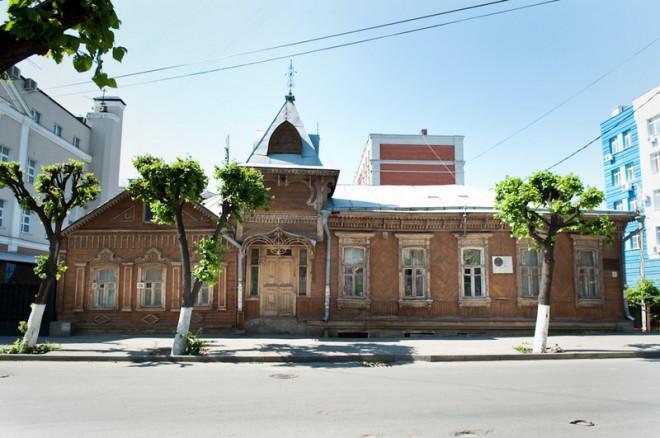 Дом Загоскина. Фото