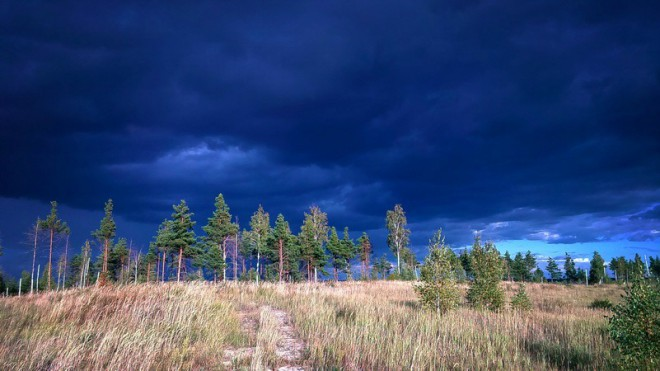 Чёрное озеро. Фото