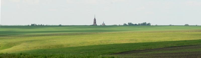 5 - вид на север с Жокинского городища