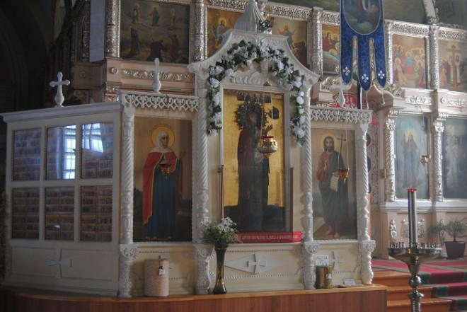Зимаровская икона. Фото
