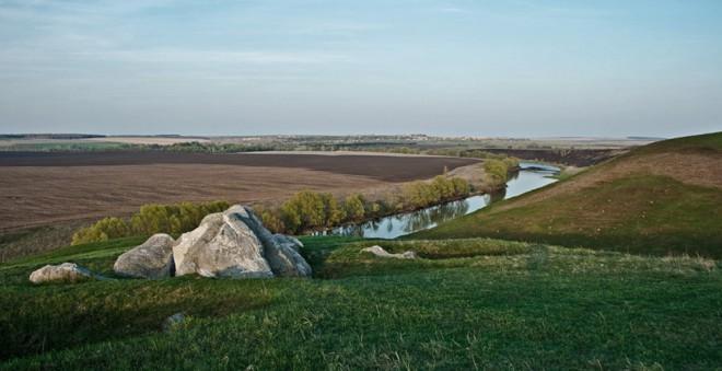 Данковский район - Долгое - конь-камень