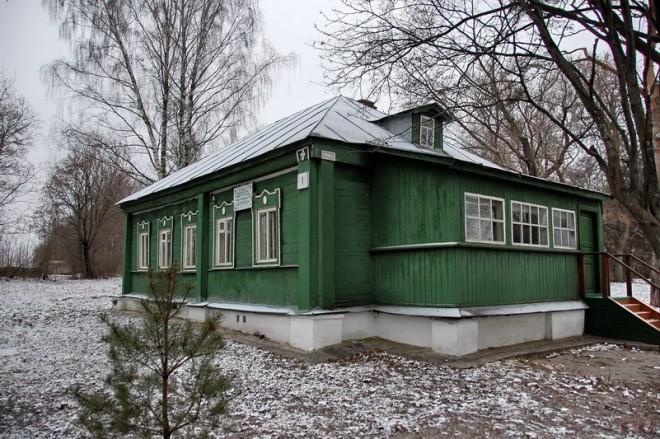 Зарайский район - Даровое - флигель усадьбы