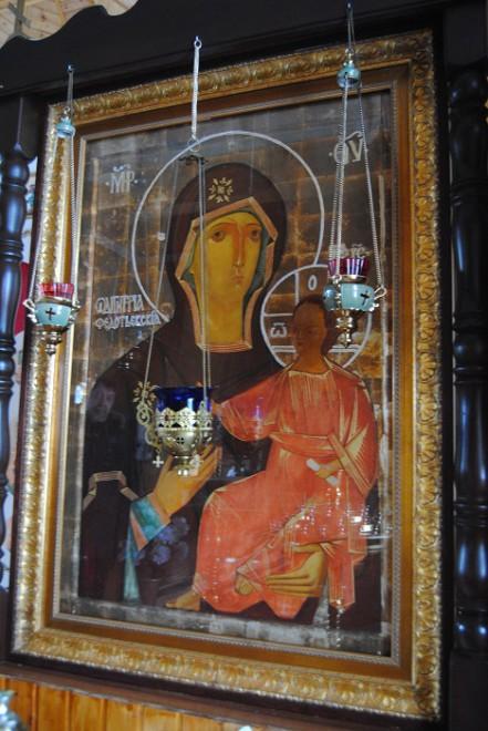 икона в Федотьево