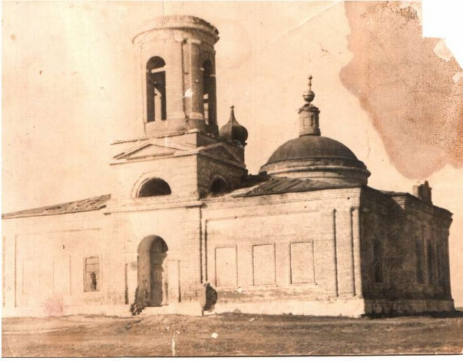 храм в Печерниках до реставрации
