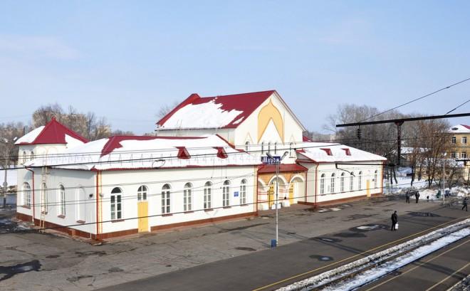 Муром - ж-д вокзал Алексея Щусева