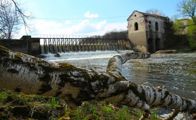 Ливадийская ГЭС. Фото