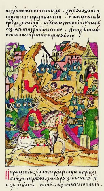 Елец - Нашествие Тамерлана в 1395 году