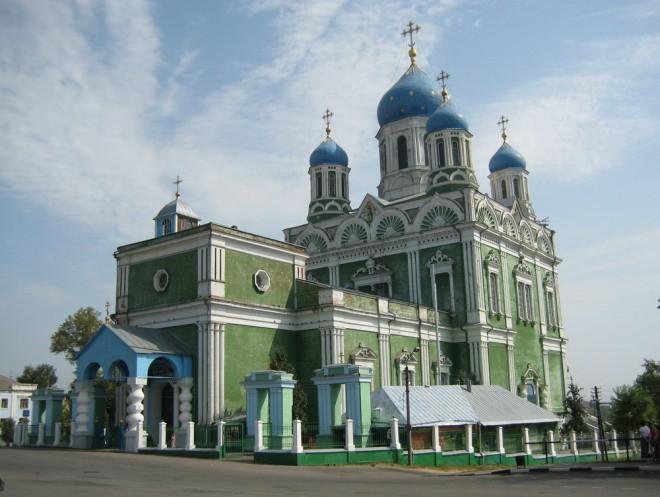 Елец - главный Вознесенский собор