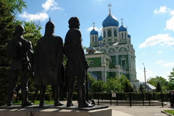 Елец - на центральной исторической площади