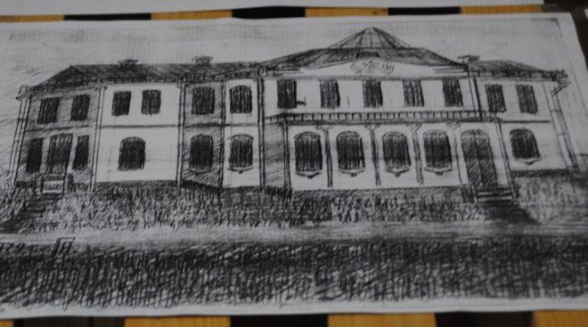 рисунок главного дома