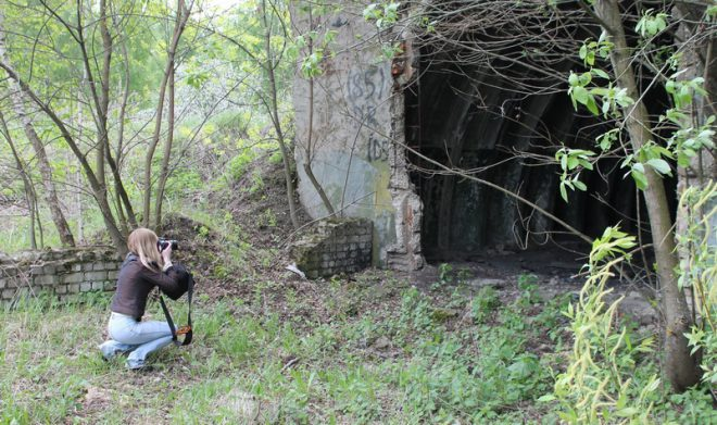 Бункеры под Малинищами. Фото