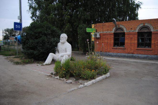 Памятник Эрнесту Хемингуэю. Фото